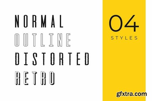 CM - GATSBY - Unique Display Typeface 2968872