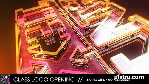 Videohive - Glass Logo Opening - 4266560
