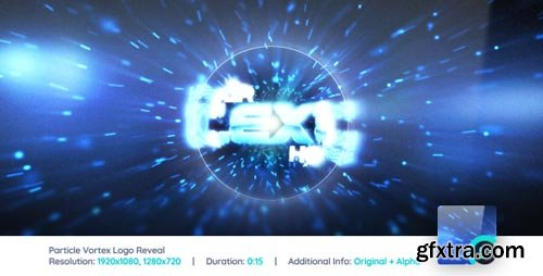 Videohive - Particle Vortex Logo Reveal - 6885256