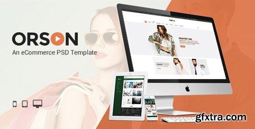 ThemeForest - Orson v1.0 - An eCommerce PSD Template - 15740216