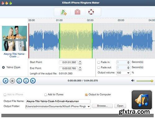 Xilisoft iPhone Ringtone Maker 3.2.12 Build 20180920 macOS