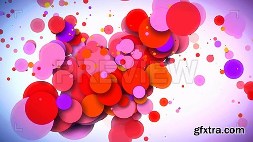 Dynamic Red And Purple Circles 108080