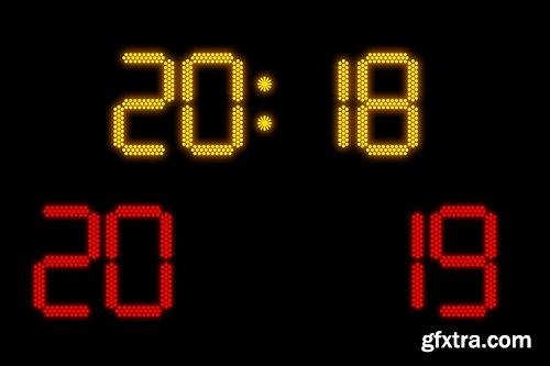 Concept on electronic scoreboard