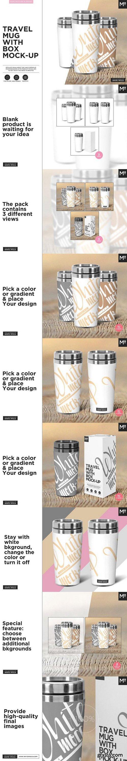CM - Travel Mug Mock-up 1470980