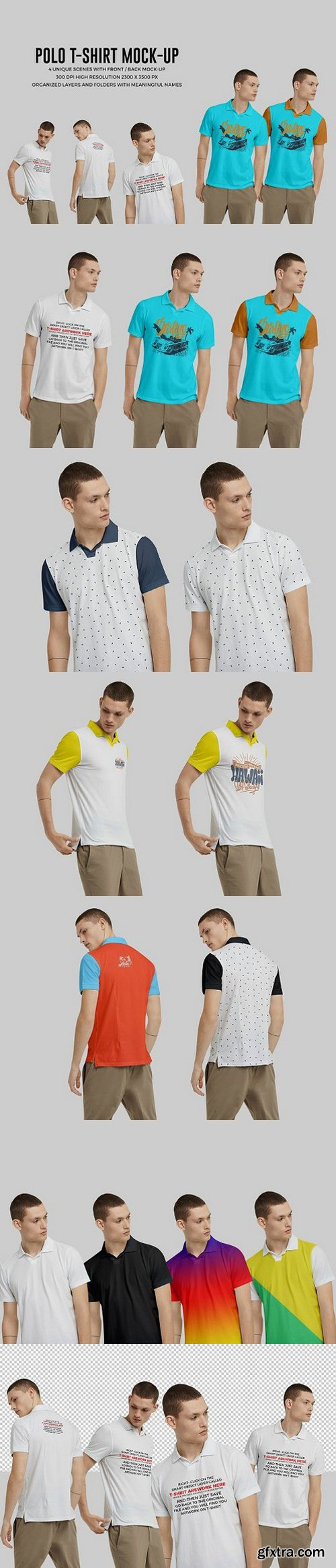 CM - Polo Shirt Mock-Up 1482354