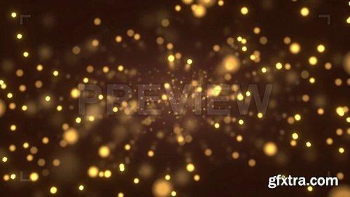 Golden Orange Particle System 108806