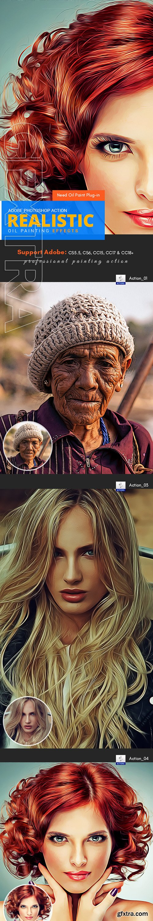 GraphicRiver - Realistic Oil Painting Action 22543625