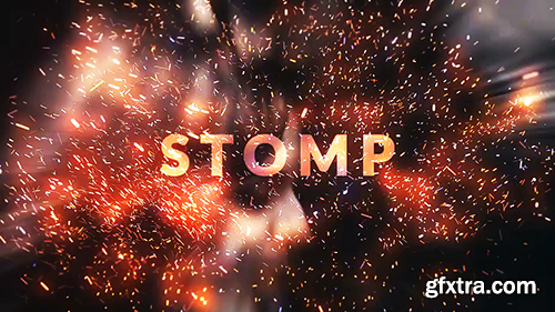 Videohive Fire Sparks Opener 21301886