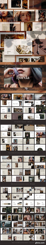 CreativeMarket - FJORDA - Powerpoint Template 2961016