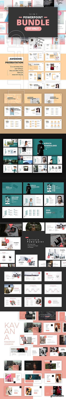 CreativeMarket - Bundle 12 in 1 Powerpoint 2950079