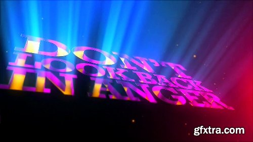 Videohive Extrude Inwards - for Logos and Texts 5450383