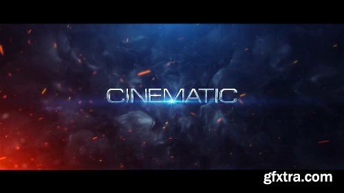 Videohive Cinematic Trailer Titles v4 15487605