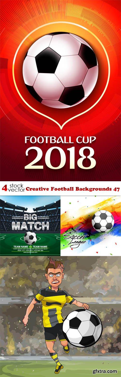 Vectors - Creative Football Backgrounds 47