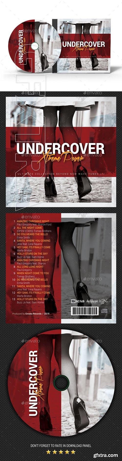 GraphicRiver - Undercover CD Cover Vol2 22530679