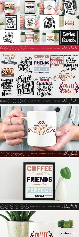 Coffee Quotes Bundle