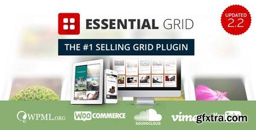 CodeCanyon - Essential Grid v2.2.5 - WordPress Plugin - 7563340
