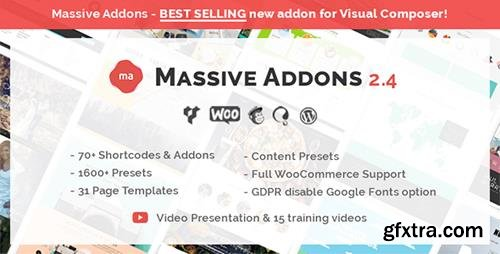 CodeCanyon - Massive Addons for WPBakery Page Builder v2.4.2 - 14429839