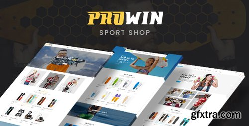 ThemeForest - Prowin v1.0 - Sport Responsive Prestashop Theme - 22651503