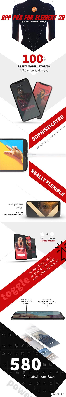 Videohive - App Pro for Element 3D - 22026827