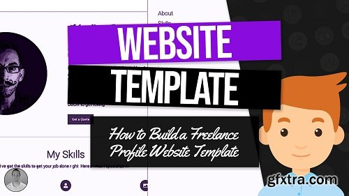Web Design Projects: Build a Freelance Website Template From Scratch Using HTML, CSS, jQuery, PHP