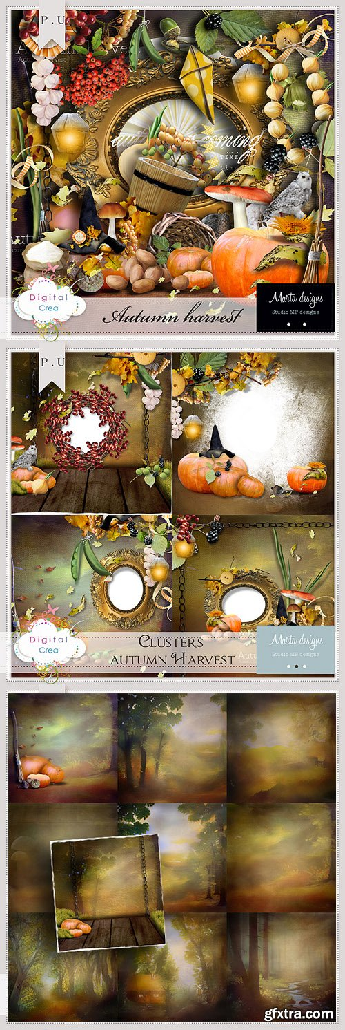 Scrap Kit - Autumn Harvest