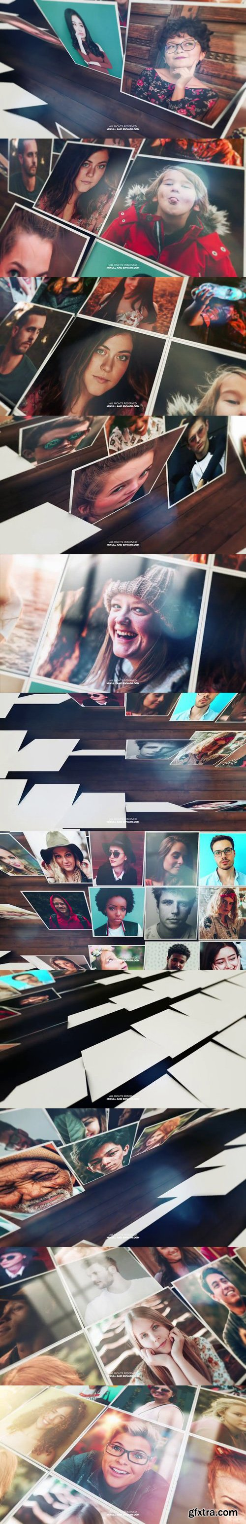 Videohive - Mosaic Photo Reveal - 22190811