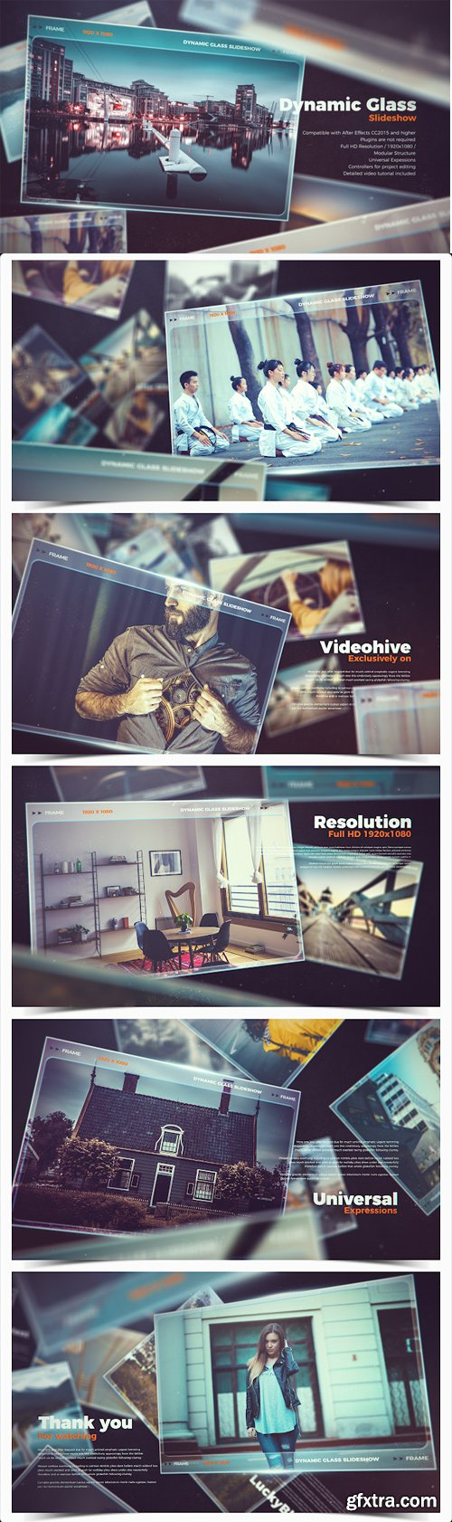 Videohive - Dynamic Glass Slideshow - 22174113