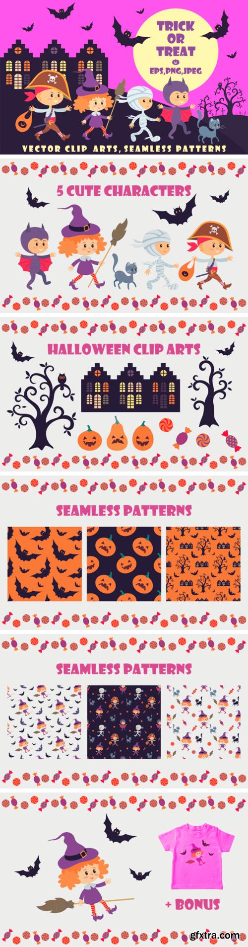 Trick or Treat: 18 Children in Halloween Costumes