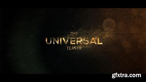 Videohive - Universal Cinematic Teaser - 20533307