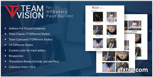 CodeCanyon - Teamvision v1.0 - Team Addons for WPBakery Page Builder for WordPress (formerly Visual Composer) - 22599973