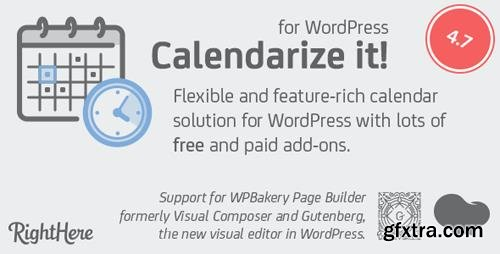 CodeCanyon - Calendarize it! for WordPress v4.7.1.85594 - 2568439 - NULLED
