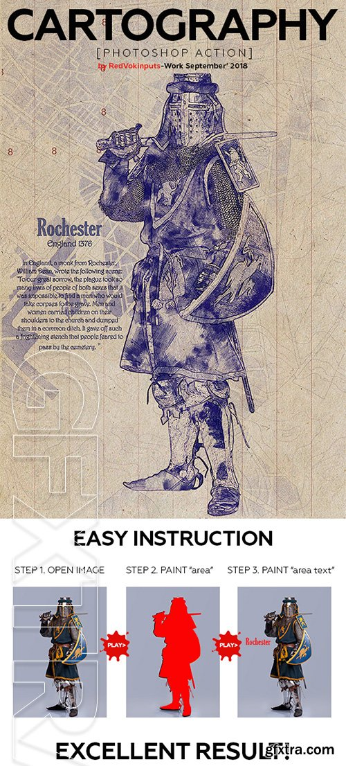 GraphicRiver - Cartography Photoshop Action 22608614
