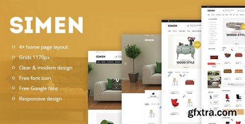 ThemeForest - Simen v1.0 - Responsive eCommerce Bootstrap Template - 14754407