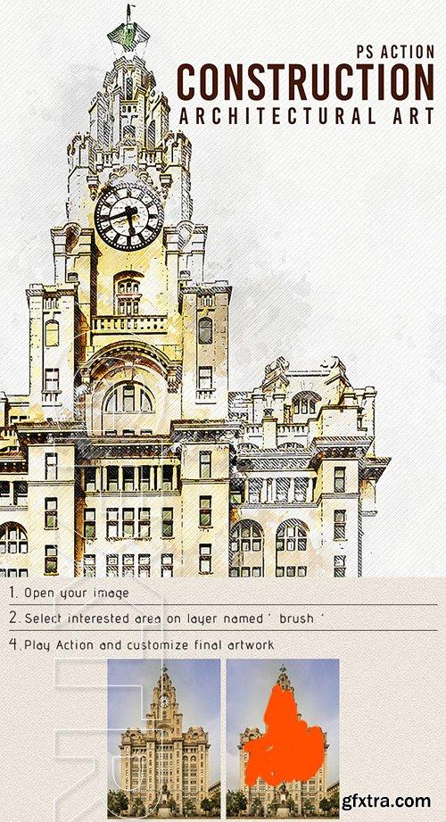 GraphicRiver - Construction - Architectural Art Photoshop Action 22620889