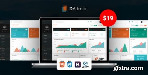 ThemeForest - DAdmin v1.1 - Responsive Bootstrap Admin Dashboard - 22256724