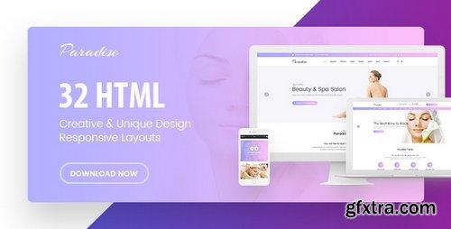 ThemeForest - Paradise v1.0 - Multipurpose HTML Template - 22654481