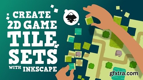 Create a 2D game tileset with Inkscape!