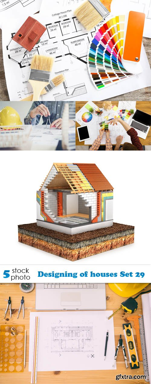 Photos - Designing of houses Set 29