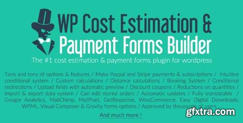 CodeCanyon - WP Cost Estimation & Payment Forms Builder v9.644 - 7818230 - NULLED