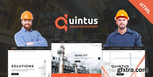 ThemeForest - Quintus v1.1 - Industry / Factory / Engineering HTML5 Template - 20360112