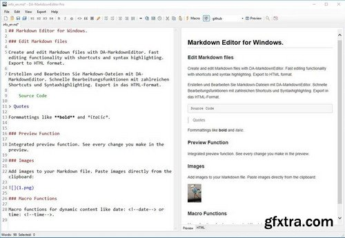 DA-MarkdownEditor Pro 1.4.3