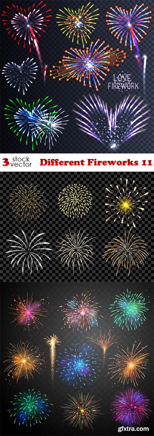 Vectors - Different Fireworks 11