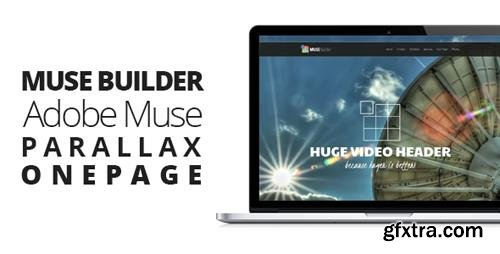 ThemeForest - Muse Builder v2.0 - Parallax OnePage Muse Template - 6762215