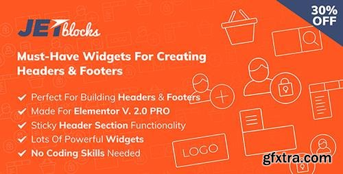 CodeCanyon - JetBlocks v1.1.3 - the must-have headers & footers widgets for Elementor - 22100766