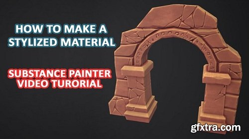 ArtStation - 3dEx How to Make a Stylized Material in Substance Painter