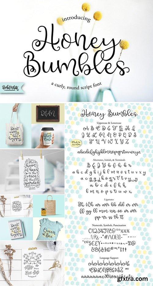 CM - Honey Bumbles, a curly round script 2615824