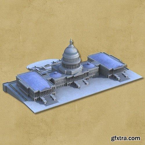 US Capitol - for DAZ Studio