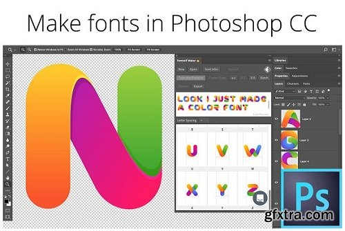 Fontself v1.0.6 Plug-in for Adobe Photoshop WIN