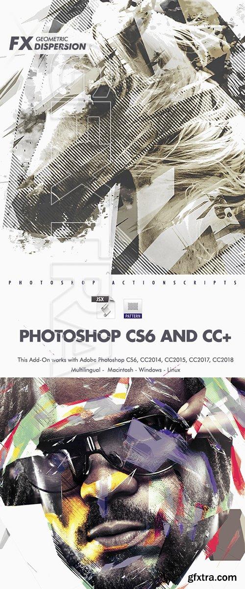 GraphicRiver - Geometric Dispersion FX Photoshop Actions 22622598