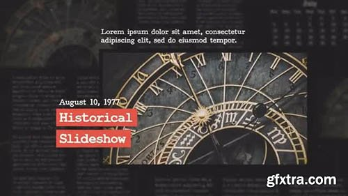 Historical Slideshow - After Effects 116923